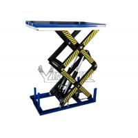 Wholesale Electric Double Scissor Lifting Table With1000kg to 4000kg Load Capacity from china suppliers