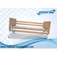 Wholesale Disabled Care Electric Foldable Nursing Home Bed Locking Wheels from china suppliers