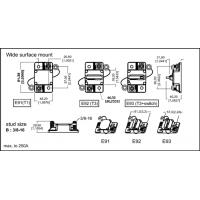 chassis mount 20a 24vdc replace circuit breaker resettable