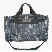 Wholesale Camouflage Polyester Outdoor Duffel Bag With Adjustable Shoulder Strap from china suppliers