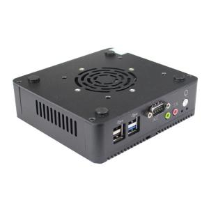 Wholesale Industrial Computer MINI ITX Box 128G SSD Quad Core Intel J1900 from china suppliers