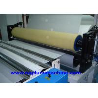 China Steel Embossing Paper Roll Rewinding Machine And Toilet Roll Cutting Machine wholesale