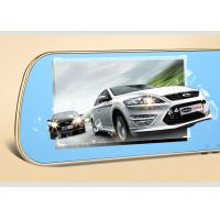 """Wholesale 5 """" LCD Capacitive Touch Screen Rear View Mirror GPS DVR Dual Camera Recorder from china suppliers"""