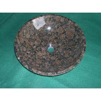 Wholesale baltic brown granite sinks from china suppliers