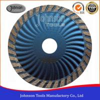 Wholesale Customized Color Diamond Stone Cutting Blades For Wave Turbo Saw Blade from china suppliers