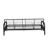 China ODM  Knock Down H720*W2000 Metal Single Bed on sale