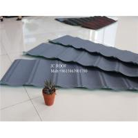 Wholesale Original Stone Coated Roofing Tiles , Steel Stone Coated Metal Roof Tile from china suppliers