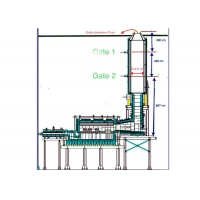 Buy cheap Silica Brick Glass 8tpd ISO45001 Recuperative Furnace from wholesalers