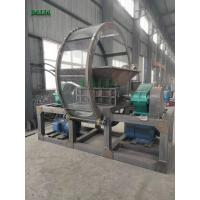 Wholesale 4000kg/h Capacity Single Shaft Shredder Machine For Crushing Scrap Plastics from china suppliers
