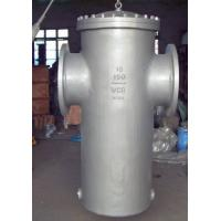 Wholesale 16 inch Basket Type Strainer 150# ASME B16.34 Stainless Steel Basket  Strainers For Pumps from china suppliers