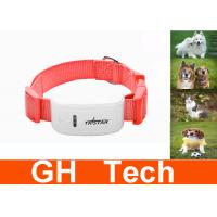 Wholesale Portable Pink Pet GPS Tracker Quad Band GSM With 5m GPS Accuracy from china suppliers