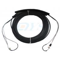China Pulling Eye Pre-terminated Optical Fiber Patch Cord , Multimode Fiber Patch Cable wholesale