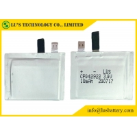 Wholesale 3v CP042922 18mAh Ultra Thin Battery Non Pollution For ID Cards from china suppliers