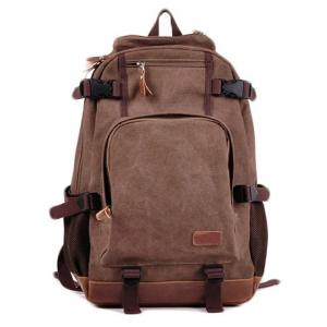 Wholesale Student Leisure 15 Inch Canvas Laptop Bag Backpacks from china suppliers