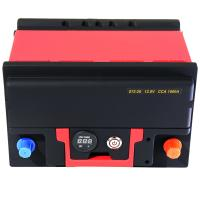 Buy cheap Lightweight Powerful Lifepo4 Car Battery 1500A 12.8V With BMS Quick Charge from wholesalers