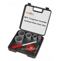 Wholesale 1-1/4 In. - 3-1/4 In. Carbide Grit Hole Saw Assorted Set 8 Pc from china suppliers