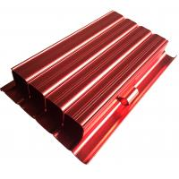 Wholesale 6063 Aluminum Housing CNC Machining Parts Anodized Aluminium Profile Red Color from china suppliers