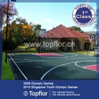 China PP/PVC interlocking sports flooring for indoor/outdoor sports court wholesale