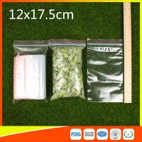 China Plastic Tight Seal Ziplock Bags Packing Ziplock Bags With Zipper Red Line on sale