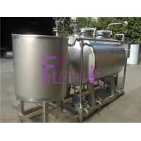 Wholesale Semiauto CIP Cleaning System 500L Tank For Dairy / Beer / Beverage Processing Line from china suppliers