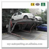 Wholesale Double Car Stackers 2 Cars Easy Parking Lift Simple Tilting Stacker Two Post Parking Lift from china suppliers