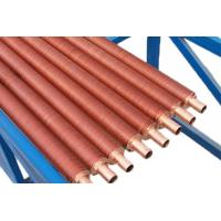 Wholesale Aluminum copper low finned tube spiral evaporator for heat exchanger from china suppliers