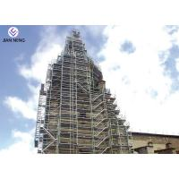 Wholesale Safe And Reliable Construction Stair Tower , Vertical Building Scaffold Tower from china suppliers