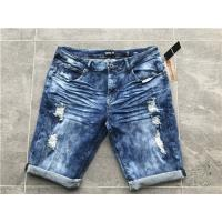 5 Pockets Boys Stretch Denim Shorts With  98% Cotton 2% Elastane TW81110
