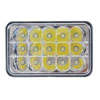 Wholesale 5 Inch 45W Square Jeep LED Headlights High Low Beam Jeep Front Lights from china suppliers