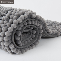 Wholesale BSCI Polyester Luxury Chenille Bath Mat Quick Drying Non Faded Color from china suppliers