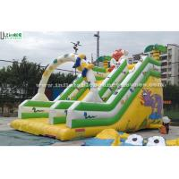 Wholesale Jungle Commercial Inflatable Slides from china suppliers