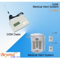China Senior GSM Medical alert Alarm system : Help Alarm Auto Dialer, Auto Dial and Play Voice on sale