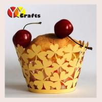 Wholesale Custom Cake Cupcake Holder Wedding Party Home Decoration leaf design from china suppliers