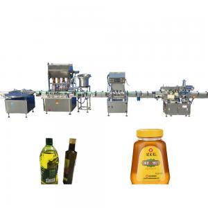 Buy cheap 10-40 bottles/min Honey Filling Machine , Stepping Motor Edible Oil Filling from wholesalers