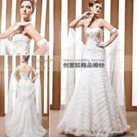 Wholesale graceful trumpet wedding ceremony dresses 90028 from china suppliers