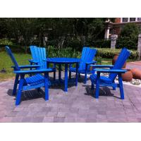 Buy cheap plastic adirondack dining set from wholesalers