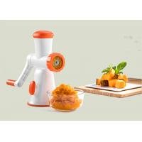 China Portable Type Kitchen Meat Mincer Food Grade Plastic Materials Low Noise on sale