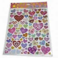 Wholesale Non-toxic Stickers, Various Shapes, Sizes and Designs are Available from china suppliers