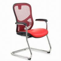 PU Office Chair The High Back Office Chair Mesh Office Chair Without Wheels