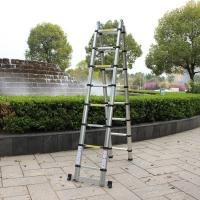 Aluminium Telescopic Extension Double side 3.2m 3.8m 4m 5m 6m Folding Ladder