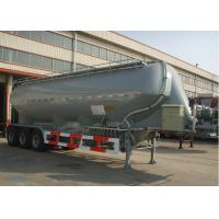 Wholesale 37000L Aluminum Alloy Dry Bulk Pneumatic Tank Trailers with Three axles from china suppliers