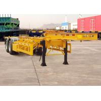 Wholesale Durable Skeleton Semi Trailer Container Transport Trailer Customized Color from china suppliers