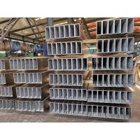 Wholesale Structural Galvanised Steel Box Section , Galvanised Rectangular Tube Posts Durable from china suppliers
