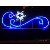 Wholesale led holiday skylines decorative 2d motif outdoor christmas street light decoration from china suppliers