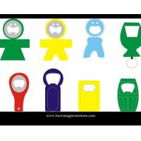 Wholesale Made in China Eco-friendly promotiona metal with PVC beer bottle opener from china suppliers
