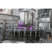Wholesale 0.4Mpa 8000BPH  Hot Filling Orange Juice Machine For Glass Jars With Twist Off Caps from china suppliers