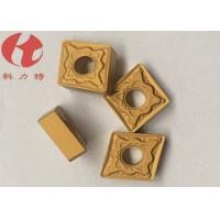 Wholesale CNMG120408-PMK CNC Turning Inserts Universal Chipbreakers Cuting Steel / Cast Iron from china suppliers