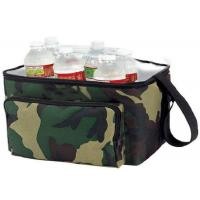 China OEM  Nylon Material Insulated Wine Cooler Bag Double Deck Cooler Bag wholesale