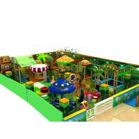 Wholesale Amusement Parks Kids Playground Equipment Green Leisure Naughty Castle from china suppliers