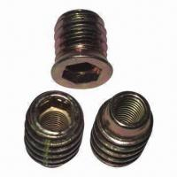 Wholesale Insert Nuts with Yellow Zinc, OEM Orders Welcomed from china suppliers